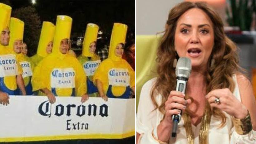 Andrea Legarreta afirma que el coronavirus no le afectará a quienes no toman cerveza