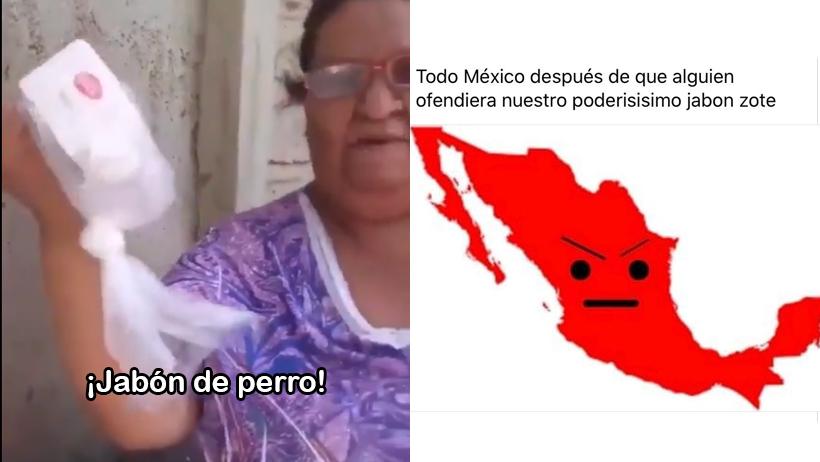 Esta señora se indignó por recibir Jabón Zote y México se le fue encima con memes